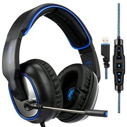 Sades R7 Gaming Headset Virtual 7.1 Channel Surround Sound G