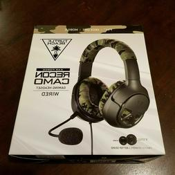 Turtle Beach Recon Camo Headset PlayStation 4 Xbox One PC Ma