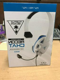 Turtle Beach Recon Chat White Gaming Headset for PS4 and PS4