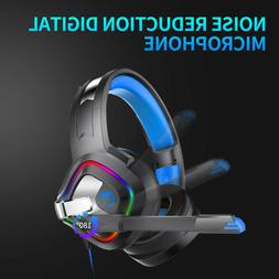 RGB LED Gaming Headset Stereo Surround S