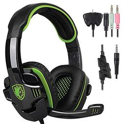 leoie SA-708 GT Gaming Headset Headphone with Microphone for