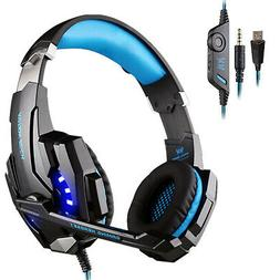 EACH G9000 Pro Gaming Headset 3.5mm Surround Headphone w/Mic