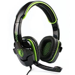 SADES SA816 Stereo Gaming Headset Heahphone for PC MAC PS4 X