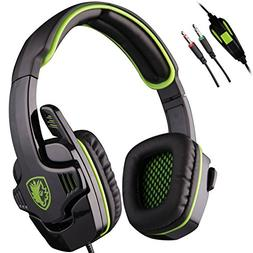 SADES SA708 3.5mm Stereo Gaming Headset Headset with Microph