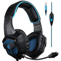 SADES SA807 Gaming Headset Headphone Stereo Sound 3.5mm Wire