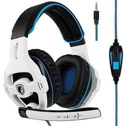 SADES SA810 Gaming Headset Headphone 3.5mm Over-ear with Mic