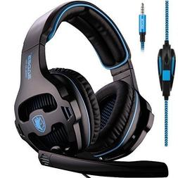 SADES SA810 Stereo Gaming Headset for Xbox One, PS4, PC, Con