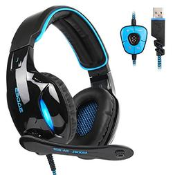 SADES SA902 7.1 Channel Surround Stereo Wired USB PC Gaming