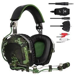 SADES SA926T Gaming Headset Stereo Wired Over Ear Headphones