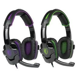 SADES SA930 Gaming Headset With Noise Cancelling Mic f/Xbox