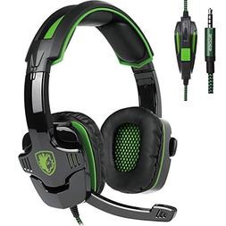 SADES SA930 3.5MM Stereo Surround Gaming Headset with Microp