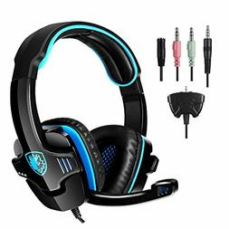 SADES Gaming Headset Headphone for PS4/PC/Laptop/Xbox 360 wi