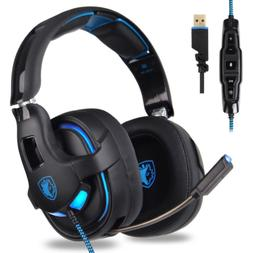 Choyur SADES PC Gaming Headset, 7.1 Surround Stereo Sound R1