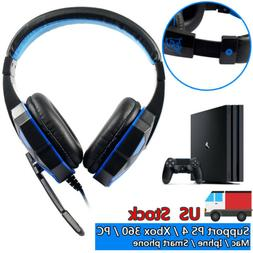 SA-708 GT Gaming Headset Headphone With Microphone For PS4 P