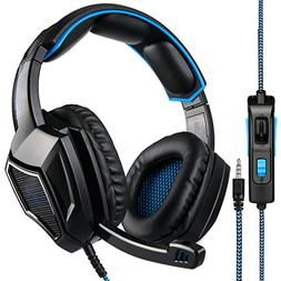 Sades SA920 Wired Stereo Gaming Headset Over Ear Headphones