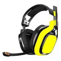 MightySkins Skin for Astro A40 Gaming Headset - Solid Yellow