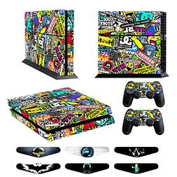 Skins for PS4 Controller - Decals for Playstation 4 Games -