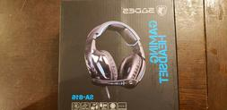 SADES Spirit Wolf Black/Blue Over-Ear Gaming Headset for PC