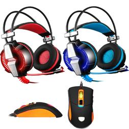 EACH GS700 Stereo Bass Surround Gaming Headset for PS4 New X
