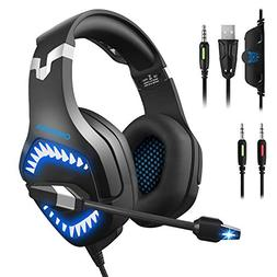 Stereo Gaming Headset, DIOWING,【Upgraded 7.1 Bass Surround