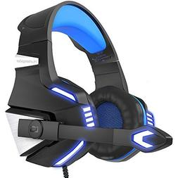 VersionTECH. BX039L Stereo Gaming Headset for Xbox One, PS4,