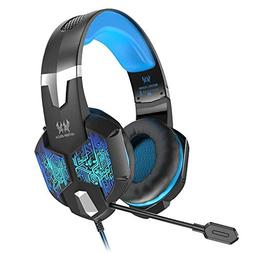 VersionTECH. Gaming Headset for Xbox One/PS4 Controller, PC,