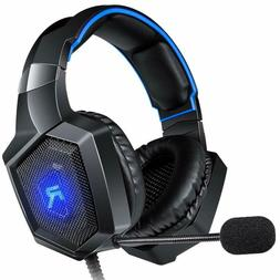 RUNMUS Stereo Gaming Headset for PS4 Xbox One Switch PC PS3