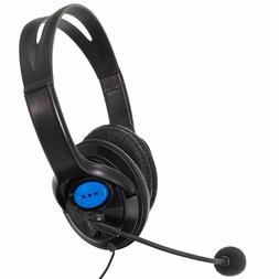 Stereo Gaming Headset Headphone w/ Microphone Wired Aux for
