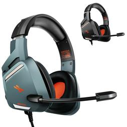Stereo Gaming Headset Noise Cancelling Over Ear Headphones W