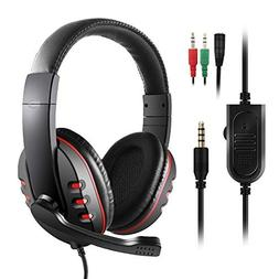 JAMSWALL Stereo Gaming Headset for Xbox one PS4-3.5mm Wired