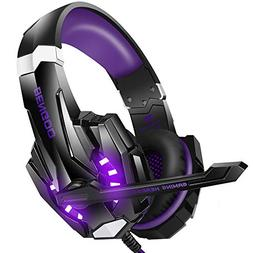 BENGOO Stereo Gaming Headset for PS4, PC, Xbox One Controlle