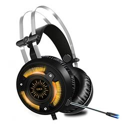 ALWUP Stereo Gaming Headset for PS4, Xbox One Headset, Light