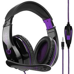Stereo Gaming Headset PS4 Xbox One X, Anivia A9S Wired Over