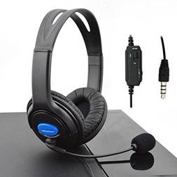 Stereo Gaming Headsets for Sony PlayStation 4 Noise Cancelli