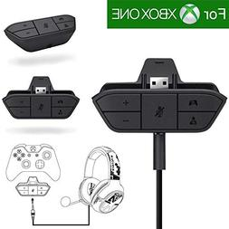 Stereo Headset Adapter, Besde Audio Game Adapter for Microso