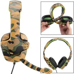 Stereo PC Gaming Game Headset for PS4 3 Xbox One Laptop Nint