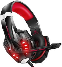 BENGOO Stereo Pro Gaming Headset for PS4, PC, Xbox One Contr
