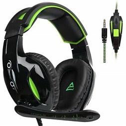 SUPSOO G813 PS4 Gaming Headset for Xbox One Over Ear Headpho