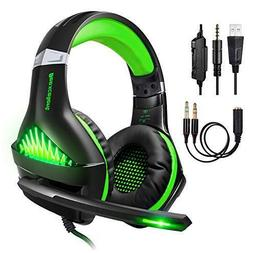 Upgraded Professional Ps4 Gaming Headset 3.5mm Wired Bass St