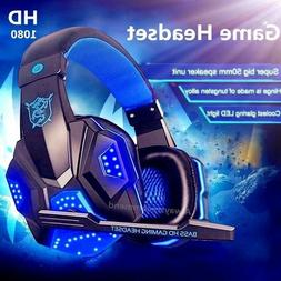 USB 3.5mm Surround Stereo Gaming Headset Headphone with Mic
