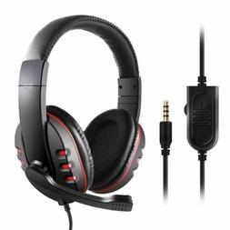 USB Gaming Headset 3.5mm Stereo Surround Sound Game Headphon