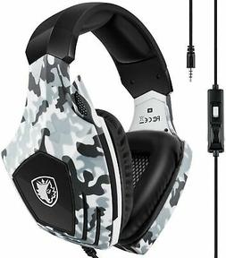 Xbox One Gaming Headset,SADES Stereo PC PS4 Gaming Headset w