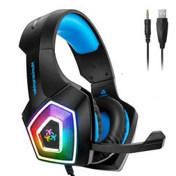 Hunterspider V1 Stereo Bass Game Gaming Headset for PS4 Slim