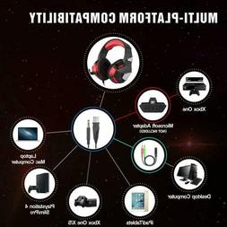 V3 Comfortable Gaming Headset Stereo Surround with Mic / LED
