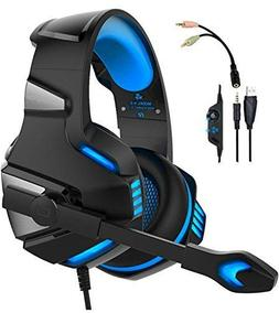 WINTORY V30 Gaming Headset Headphones with Mic Noise Cancell
