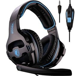 Sades Newest Version PS4 Gaming Headset Headphone with Micro