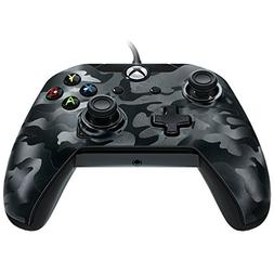 PDP Wired Controller for Xbox One - Black Camo - Xbox One