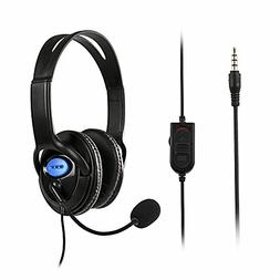 ADSRO Wired Gaming Headset Headphones With Microphone For So