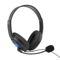 Wired Gaming Headset Headphones With Microphone For Sony PS4