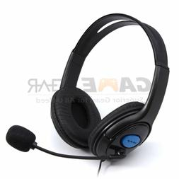 Wired Gaming Headset Headphones with Microphone for PS4 PC L